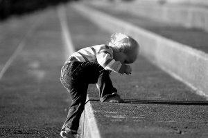 Child Climbing Steps